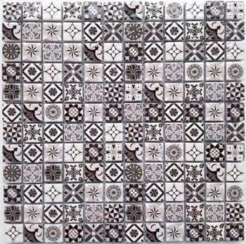 Naturstein Mosaik Heritage ist ein Mosaike im Retro Style.