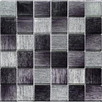 GLAMOUR diamond black ist ein Glas Mosaike mit unglaubliche Tiefenwirkung.