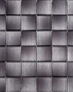 GLAMOUR pearl black ist ein Glas Mosaike mit unglaubliche Tiefenwirkung.