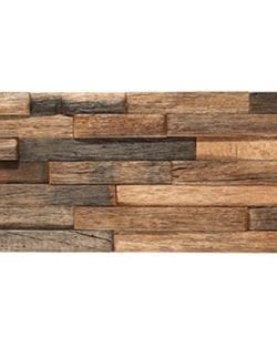 WOOD STYLE Strips Holz Recycling Mosaik