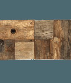 WOOD STYLE Blocks Holz Recycling Mosaik