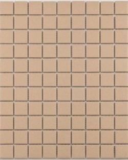 GRIP Light Beige unglasiert Keramisches Mosaik.
