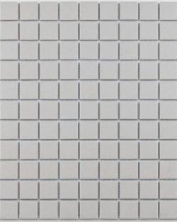 GRIP White unglasiert Keramisches Mosaik