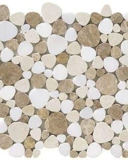 NIMES Beige Naturstein Mosaik