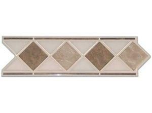 ACTION Marmor Beige Geben Sie Ihrem Bad einen entsprechenden Akzent, durch eine schlichte, schöne elegante Klassische Bordüre aus Keramik in diversen Ausführungen und Farben.