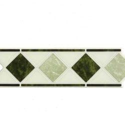 ACTION Marmor Green Geben Sie Ihrem Bad einen entsprechenden Akzent, durch eine schlichte, schöne elegante Klassische Bordüre aus Keramik in diversen Ausführungen und Farben.