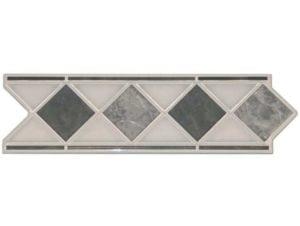 ACTION Marmor Grey Geben Sie Ihrem Bad einen entsprechenden Akzent, durch eine schlichte, schöne elegante Klassische Bordüre aus Keramik in diversen Ausführungen und Farben.