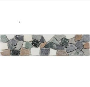 CRUSH Grey White Brown Green Geben Sie Ihrem Bad einen entsprechenden Akzent, durch eine schlichte, schöne elegante Klassische Bordüre aus Naturstein in diversen Ausführungen und Farben