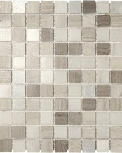 DERBY Grey Mix Naturstein Mosaike in Quadratischer oder Rechteckiger Ausführung in sehr fein abgestimmten Farblichen Grautöne.