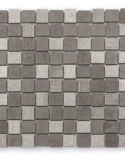 DJENNÉ Grey Naturstein Mosaike in Quadratischer oder Rechteckiger Ausführung in sehr fein abgestimmten Farblichen Erdtöne.