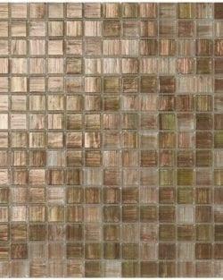 ETOILES Beige ist ein Klassisch, edles Glas Mosaik in diversen fein abgestimmten Farb-Mix.