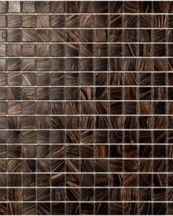 ETOILES Mogano ist ein Klassisch, edles Glas Mosaik in diversen fein abgestimmten Farb-Mix.