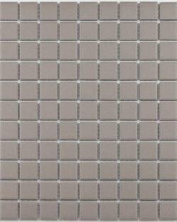 GRIP Light Grey unglasiert Keramisches Mosaik