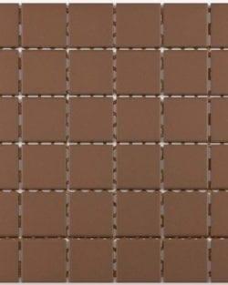 GRIP Mocca unglasiert Keramisches Mosaik