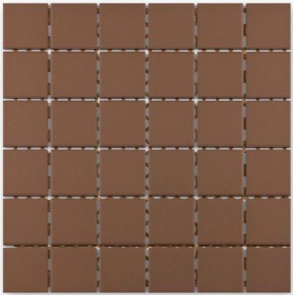 Grip mocca piastrelle mosaico ceramica il mosaico for Mosaico ceramica