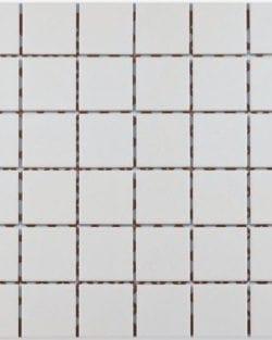 GRIP Super white unglasiert Keramisches Mosaik