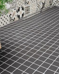 Keramik Mosaik GRIP Unglasiert
