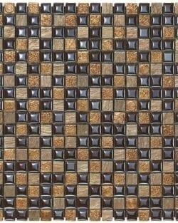 MEXICAL Amaranto ist ein Keramisches Mosaik, welches wir in verschiedenen Farbtönen anbieten.