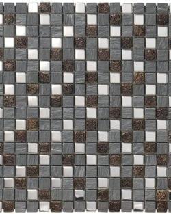 MEXICAL Metal Grigio ist ein Keramisches Mosaik, welches wir in verschiedenen Farbtönen anbieten.