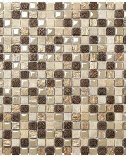 MEXICAL Modern Ambra ist ein Keramisches Mosaik, welches wir in verschiedenen Farbtönen anbieten.