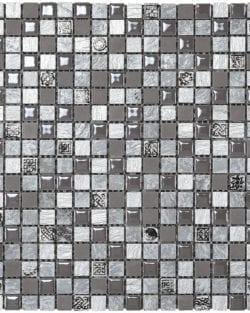 MEXICAL Modern Cenere ist ein Keramisches Mosaik, welches wir in verschiedenen Farbtönen anbieten.