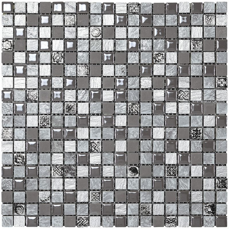 Mexical modern cenere mosaik keramik il mosaico - Mosaico per cucina ...