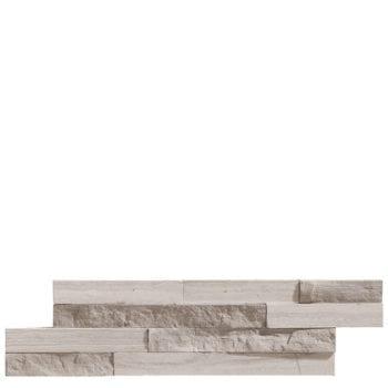 MINI NAT STONE Wood White sind Wand-Verkleidungs Elemente in diversen Naturstein Optiken und Farben. Mit kleinem Aufwand erreichen Sie eine grosse Wirkung in ihrem Zuhause. Geeignet für Wohnraum, Küche, Bad, Sitzplatz, Weinkeller etc.