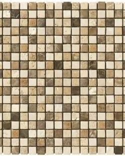 MODENA EMPERADOR Mix Klassisches Naturstein Mosaik in diversen Uni- und Mix Farbabstimmungen.