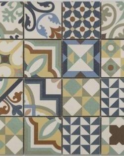 PATCHWORK mix glasiertes Keramik Mosaik
