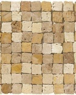 RABAT Terra Mix ist ein Naturstein Mosaike mit Bruchkanten um den Rustikalen Effekt zu bekommen, in diversen Farbtönen