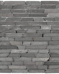 STONE STRIP Dark Grey sind Natursteine im Längsverbund.